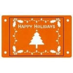 Fiskars Card-Boss Schablone Happy Holidays