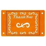 Fiskars Card-Boss Schablone Thank You