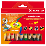 Stabilo woody 3in1 10er-Etui