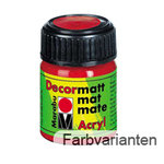 Decormatt Acrylfarbe 15ml