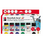 Decorlack Acryl-Set  6x15ml