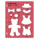 Fiskars Shape-Cutter Schablone Bear Doll