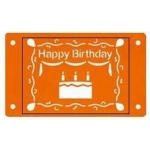 Fiskars Card-Boss Schablone Happy Birthday