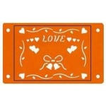 Fiskars Card-Boss Schablone Love